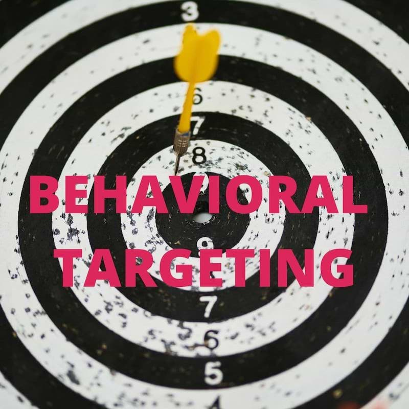 What is Behavioral targeting feature Image